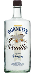 Burnett's Vodka Vanilla 750ml - Case of 12